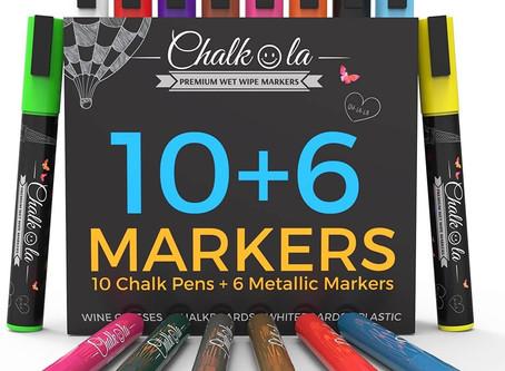 Metallic Chalk Markers Do Exist ✨
