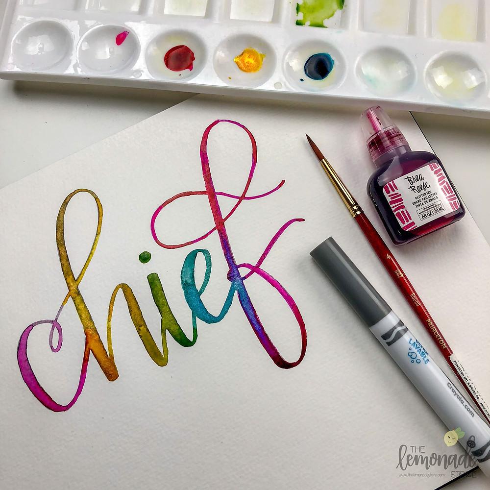 watercolor chief