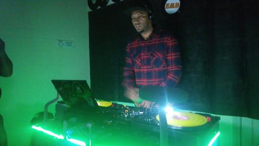 DJ Italo Trivellato na pista da EMD