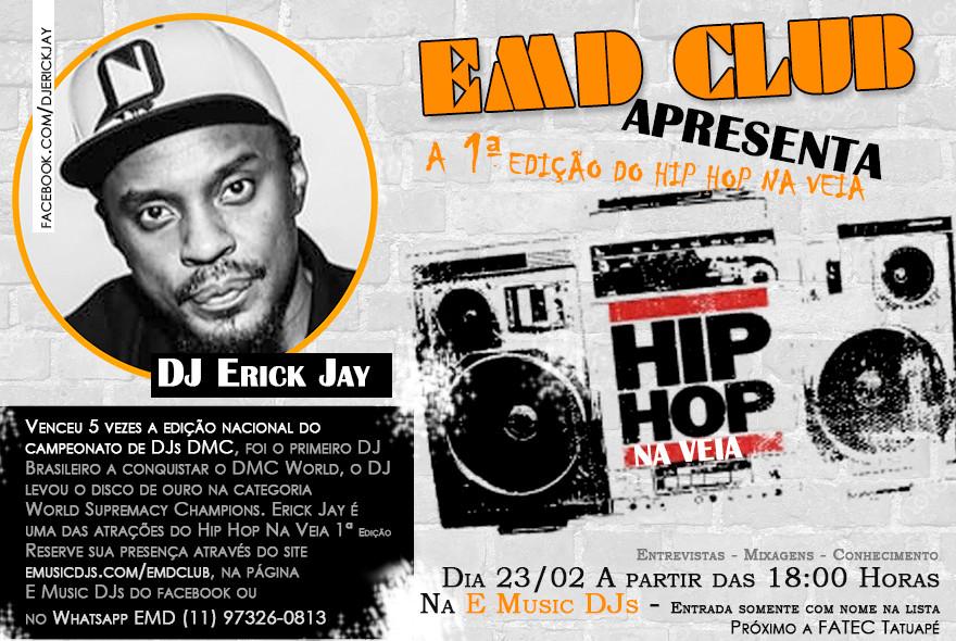 Hip Hop Na Veia 1ª Ediçâo
