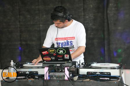DJ Anderson TS na pista da EMD