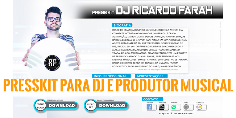 Press Kit DJ EMD
