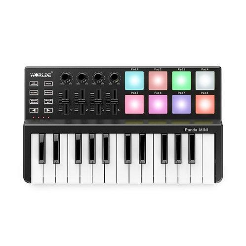 Controlador MIDI Mini 25