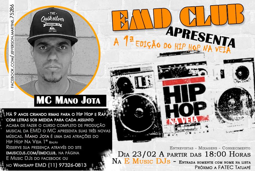 Hip Hop Na Veia 1ª Edição