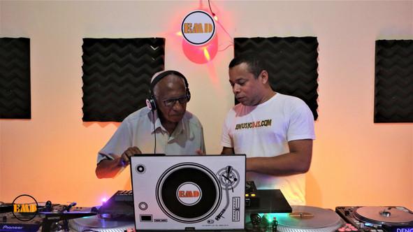 O primeiro DJ do Brasil no curso  EMD