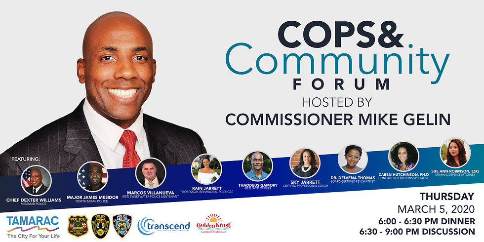 Cops & Community Forum