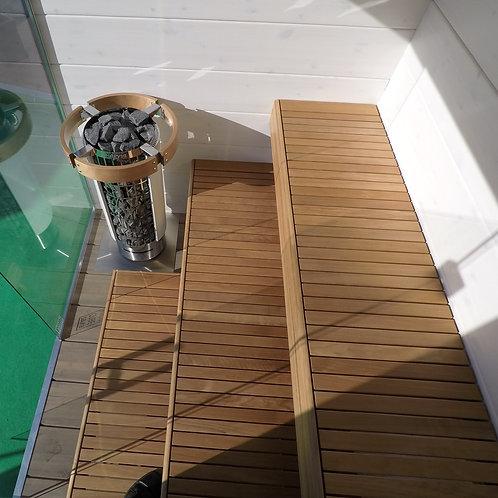 Sauna Finncube 9 préfabriqué / Ready-to-assemble