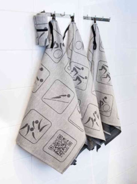 Serviette rouleau Golf Jokipiin pellava / Roll towel