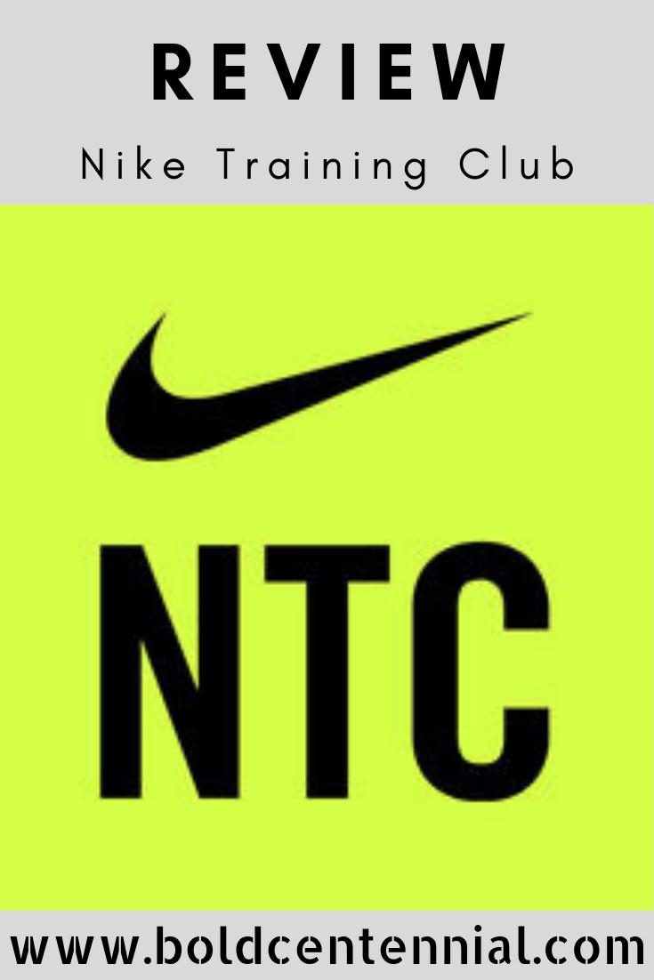 Nike training club app logo and blog icon