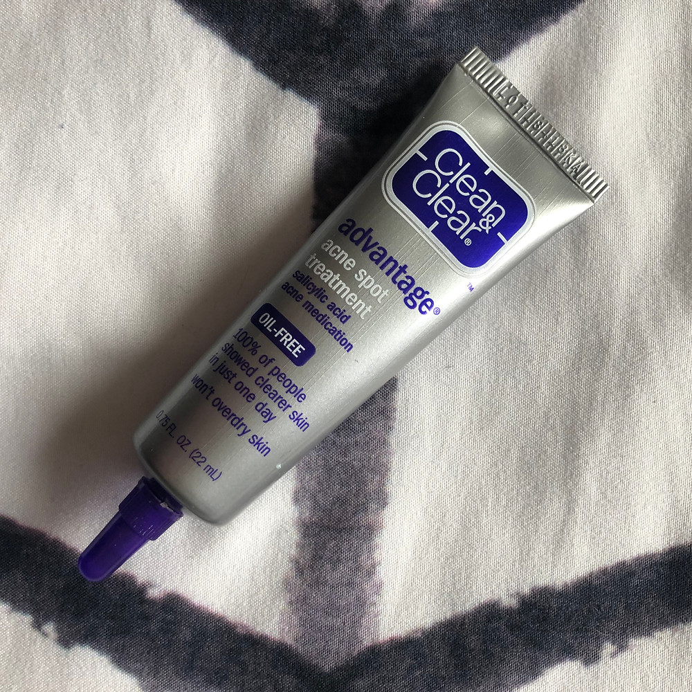 Tube of Clean And Clear Advantage Spot Treatment