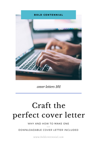 Person typing on computer depicting a perfect cover letter creation