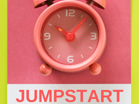 Jumpstart Your Day : My Morning Routine