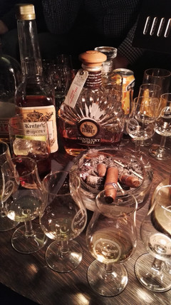 Cigar Club Zürich Bourbon Tasting 2015