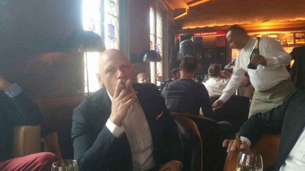 Cigar Club Zürich at Hotel Storchen 2017