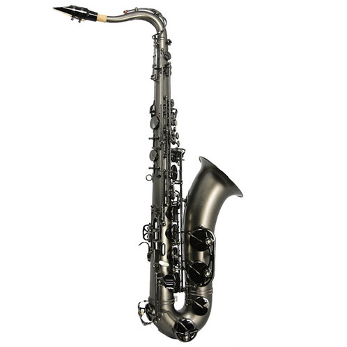 Trevor James Classic Brooklyn black frosted tenor