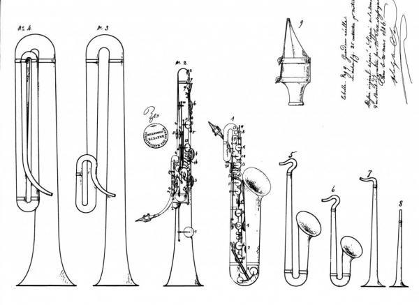175 jaar saxofoon patent