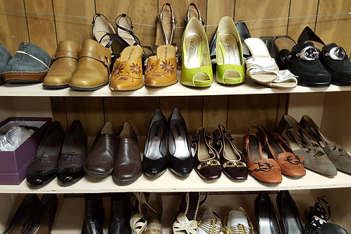 Men's, Women's and Children's shoes in all sizes
