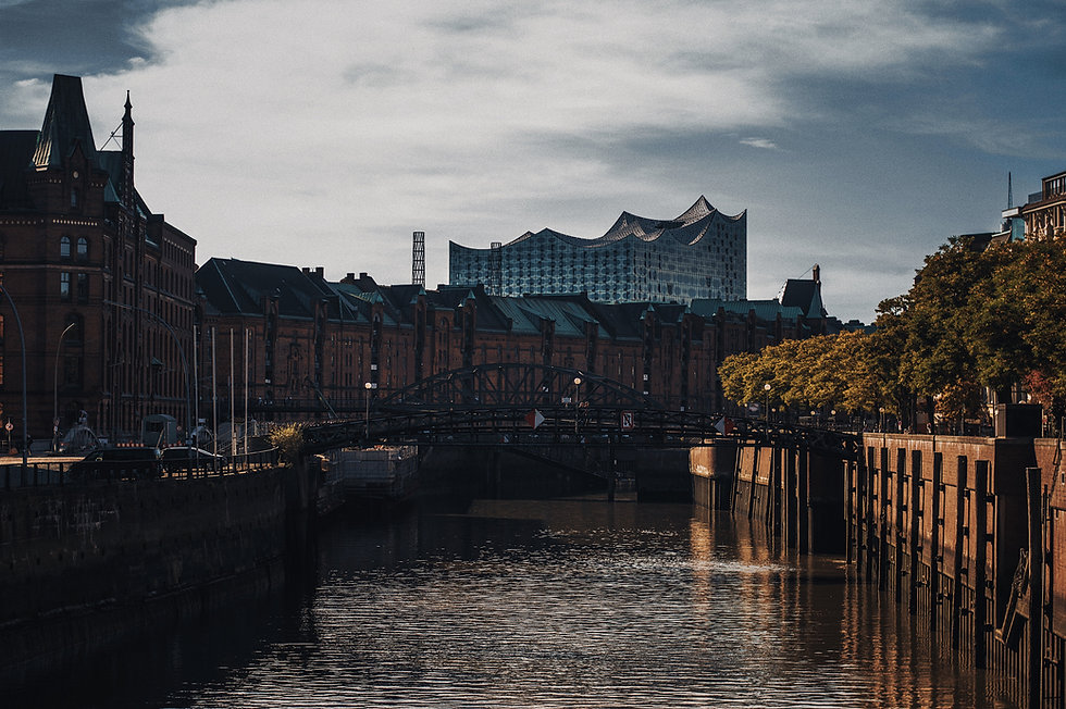 Hamburg Zollkanal Reimerstwiete