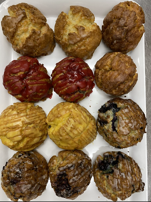 Gluten free scones (12 pieces assortment )