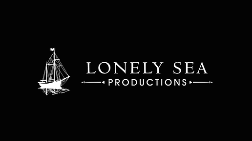 Lonely Sea Productions Logo & Font.
