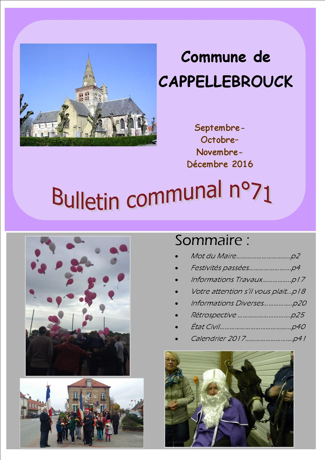 bulletin 71 - Copie