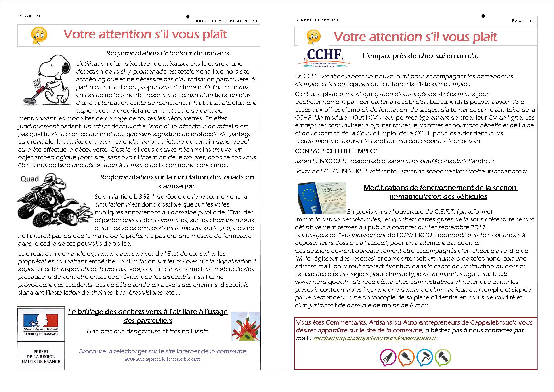 bulletin 73 corrige page 20-21