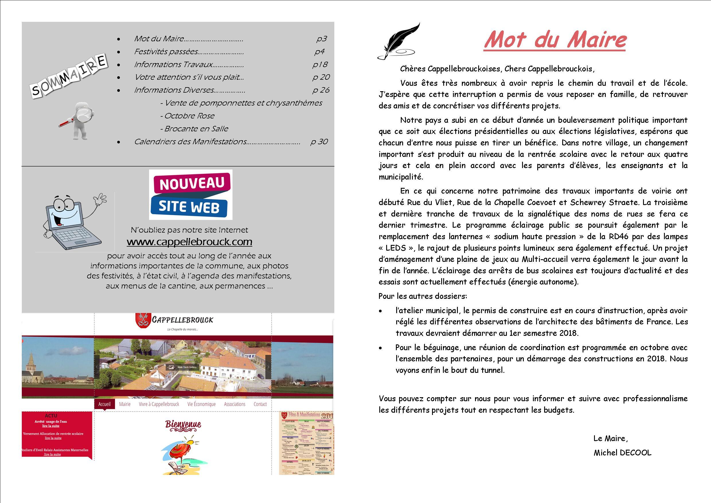 bulletin 73 corrige page 2 et 3