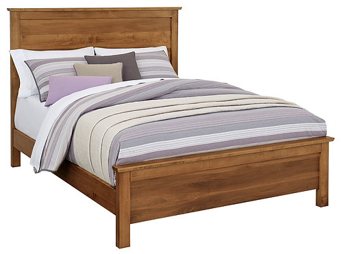 Medina Bed (Solid wood headboard)