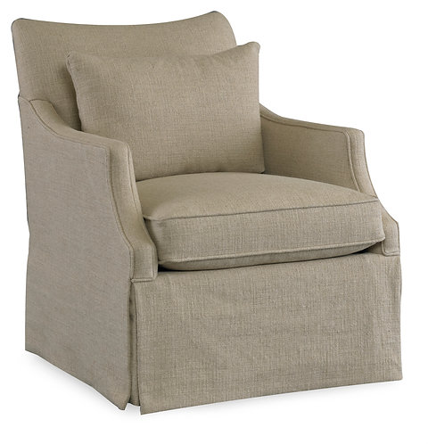 1867 Azriel Skirted Club Chair