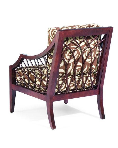 4254 Ellis Exposed Wood Chair