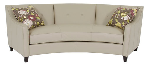 Tousley leather sofa