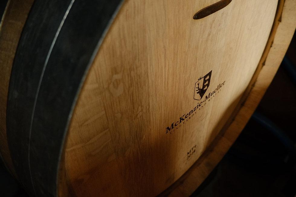 Image of Mckenzie-Mueller Wine Barrel