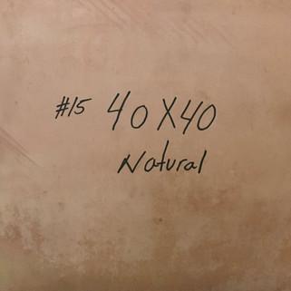 15 NATURAL 40X40
