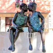 33 Garden-outdoor-love-bronze-boy-and-gi