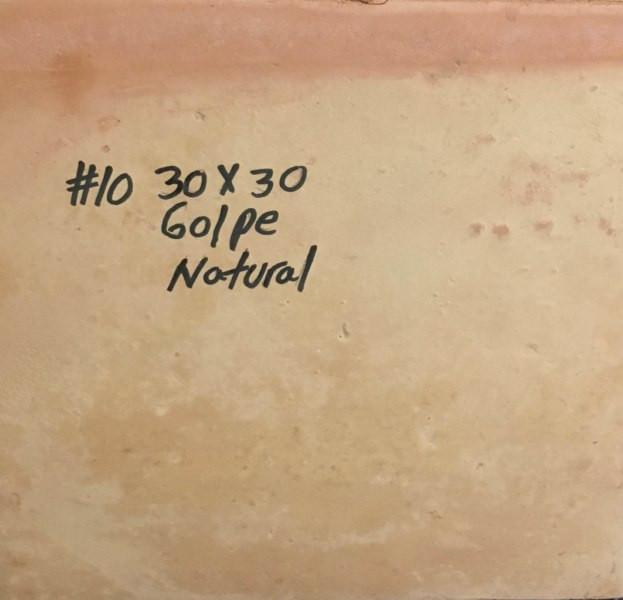 10 GOLPE NATURAL 30X30