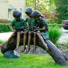 18 Factory-Supply-bronze-garden-children