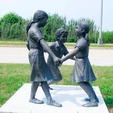 44 Hot-Cast-Menthod-outdoor-bronze-child