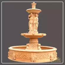 17 Custom-modern-carved-outdoor-stone-wa