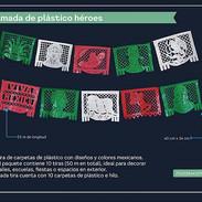 3 ENRAMADA DE PLASTICO HEROES
