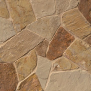 37 Antique Brown Gold Flagstone FULL
