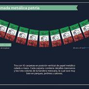 6 ENRAMADA METALICA PATRIA