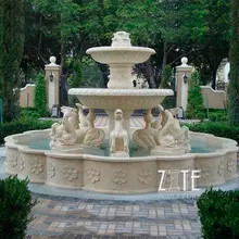 9 Custom-carved-outdoor-large-white-marb