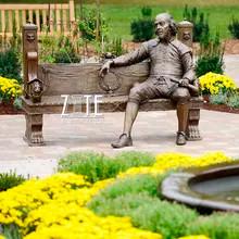 25 Garden-decoration-famous-metal-figure