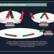 16 GUSANO DE PLASTICO TROCOLOR