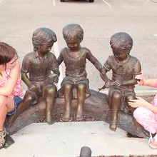 27 Garden-Decorative-bronze-children-scu