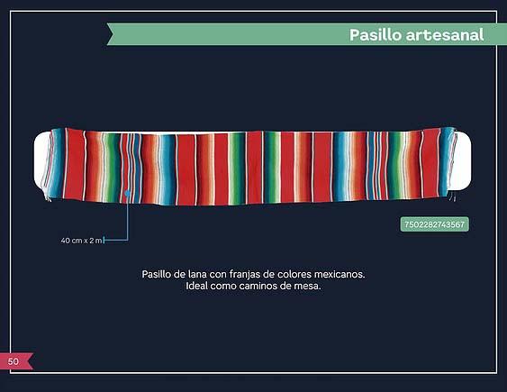 50 PASILLO ARTESANAL