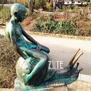 47 Life-size-bronze-naked-boy-sculpture-