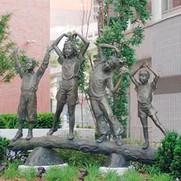 7 Beautiful-Classic-bronze-outdoor-child