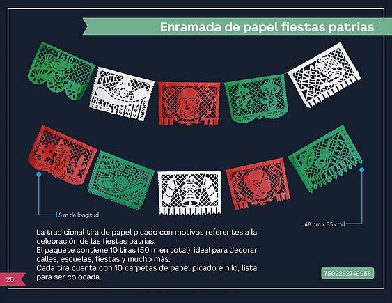 7 ENRAMADA DE PAPEL PATRIAS