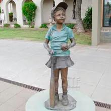 28 Garden-Decorative-casting-bronze-girl